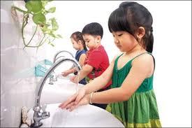 Những bí quyết giúp rèn luyện thói quen rửa tay sạch cho trẻ em.